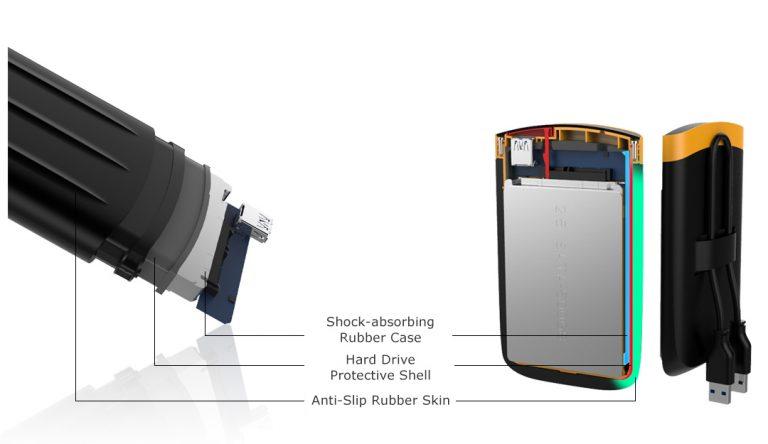 هارد اکسترنال سیلیکون پاور مدل Armor A65 ظرفیت 2 ترابایت