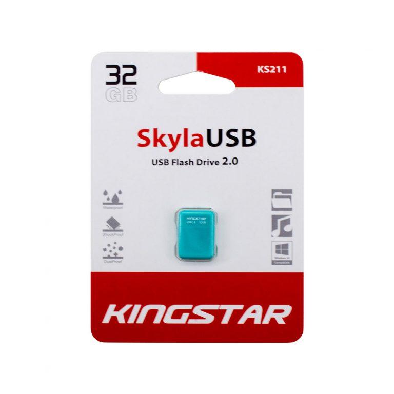 فلش مموری کینگ استار مدل sky KS211 ظرفیت 32 گیگابایت