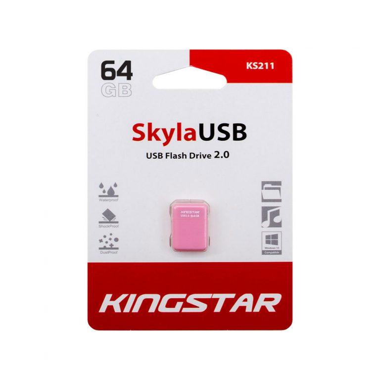 فلش مموری کینگ استار مدل sky KS211 ظرفیت 64 گیگابایت