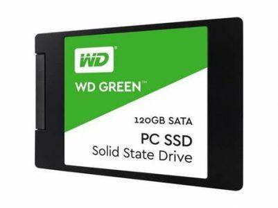اس اس دی اینترنال وسترن دیجیتال مدل Green ظرفیت 120 گیگابایت