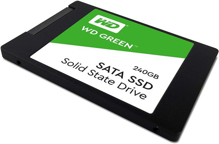 اس اس دی اینترنال وسترن دیجیتال مدل Green ظرفیت 240 گیگابایت