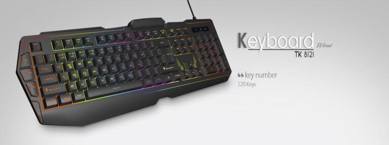 کیبورد مخصوص بازی تسکو مدل TK 8121L